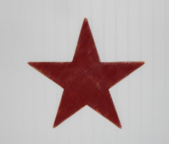 Wooden Star Primitive Star Wall Decor Country Home Decor