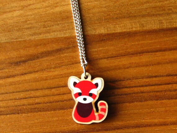Cute Red Panda Necklace