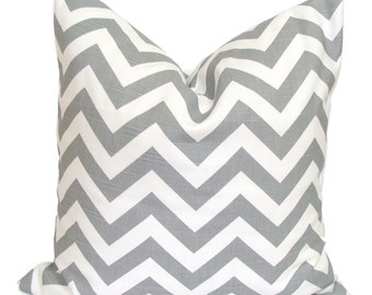 GRAY CHEVRON PILLOW.20x20 inch.Pillow Covers.Decorative Pillows.Housewares.Gray Chevron.Gray Throw Pillow.Grey Cushion.Chevron.Pillow.Cm