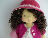 """RESERVED for S.  - RACHEL   20"""" waldorf doll"""