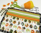 Halloween Pouch with a View -