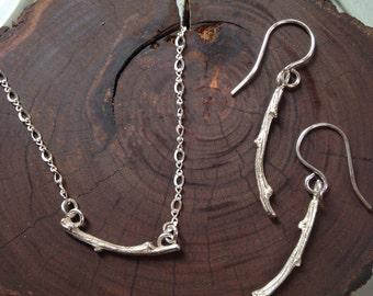 Branch Pendant Necklace