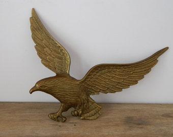 Vintage Decorative Brass Eagle.