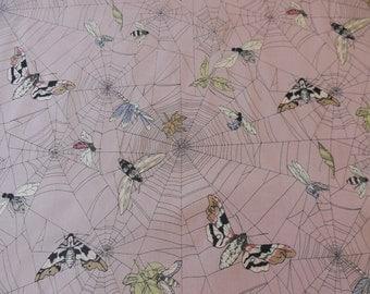 A Ghastlie Web / Mauve - Alexander Henry Fabric 1 Yard
