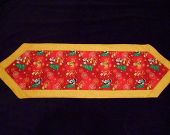 Christmas table runner/ Disney table runner/ Holiday table runner