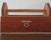 Tool Box-Wood-Miniature-Altered Cigar Box