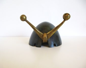 Mid Century Maurice Ascalon Pal Bell Snail Ashtray