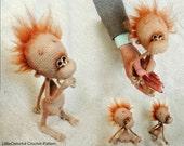 084 Baby monkey - Amigurumi Crochet Pattern PDF file by Pertseva Etsy