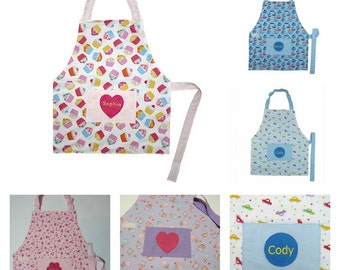 Personalised Children's Apron Age 5 - 8 years