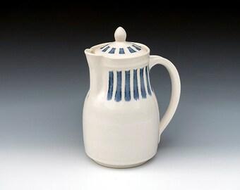 Porcelain Lidded Pitcher