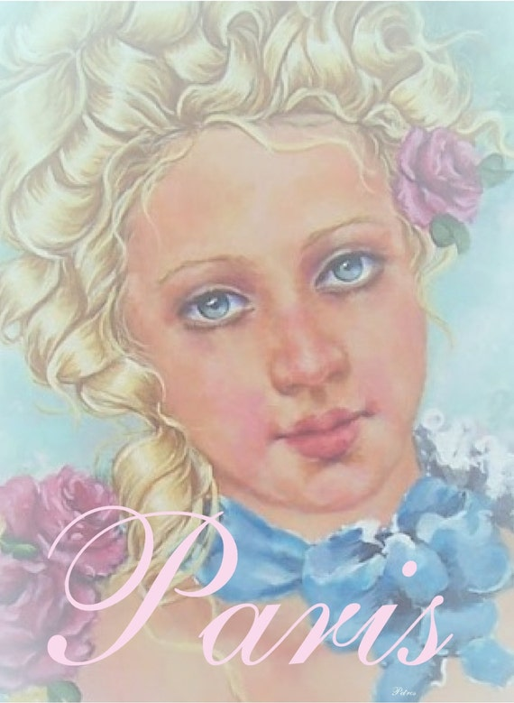 French rococo style marie antoinette portrait by royalrococo for What is the other name for the rococo style