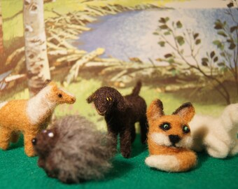 Little Felted Crtters