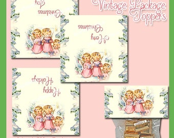 Vintage Package Toppers - Instant Download