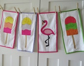 "Made ToFit Like American Girl Doll Accessories; 18"" Doll Beach Towel; 15"" Doll Beach Towel; Doll Beach Toys; Beach Towel"