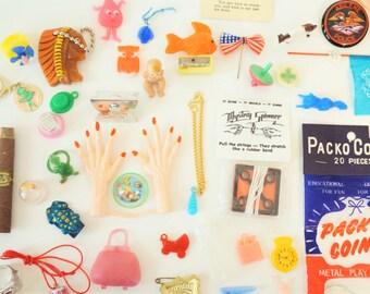 Super special deal - vintage toy grab bag
