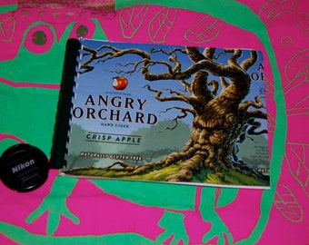 Angry Orchard Handmade Notebook