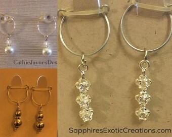 PiercedNipple jewelry, Non Pierced Nipple Jewelry, Fake Nipple rings,