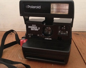 Polaroid 600 Camera with Case Business Edition