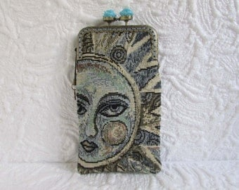 34A - iPhone 6 Case Fabric, iPod Touch Case, Cell Phone Case, Samsung Galaxy Case, cover handmade