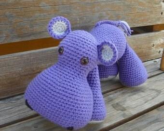 Harold Hippo crochet pattern