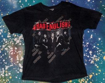 1980s BAD ENGLISH Rock Shirt Size XL 80s