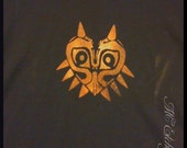 Flawed Majoras Mask T-shirt X-Large