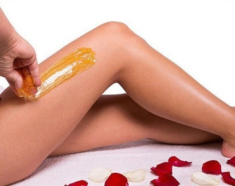 Body Sugaring Paste 8 oz Unscented. Natural Hair Removal