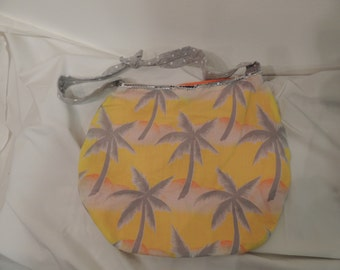 Handmade Tropical Purse/Tote
