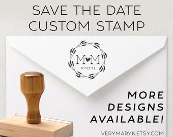 wedding seal / Save The Date classic wooden return address stamp! custom stamp, personalized stamp, rubber stamp, wood stamp!