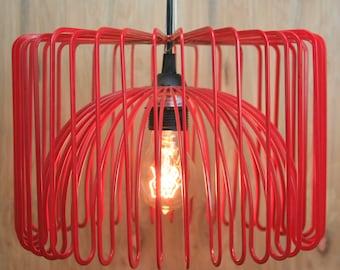 Hanging Red Lamp