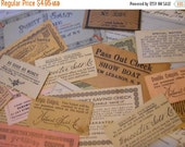 HUGE SALE Lot Assorted Antique Coupons