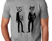 Cat Shirt Mens Graphic Tees - All our Graphic Tees are soft and fitted