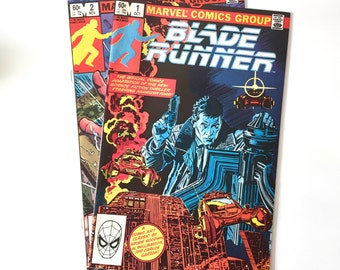 Blade Runner Marvel Comics, Complete Two Issue Set, VF+/NM- Condition