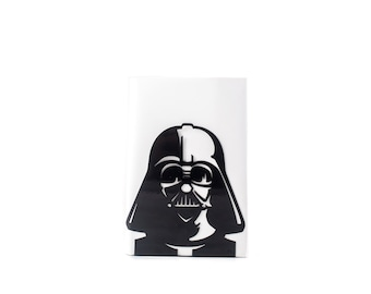 One Decorative bookend // Darth Vader // modern functional decor for the Star Wars books // FREE SHIPPING // perfect housewarming gift