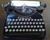 1927 L.C. Smith & Corona Typewriter