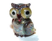 Lampwork Bead - Owl - (007-004)