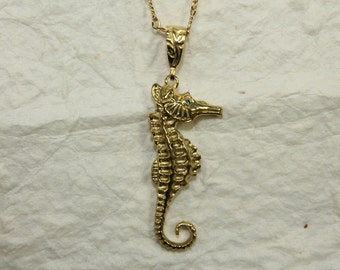 18k Seahorse