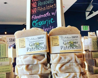 Ginger Patchouli Soap