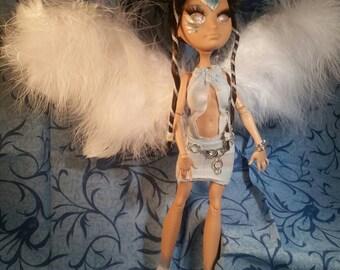 Fantasy unicorn fairy Blue
