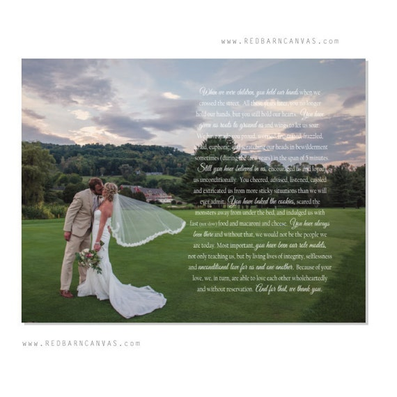 Custom Wedding Photo With Vows First Dance Wedding Song