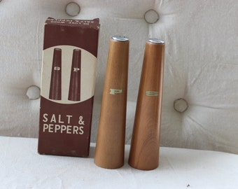 Retro Salt and Pepper Shakers