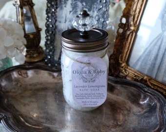Lavender & Lemongrass Bath Soak