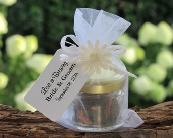 Set of 24 - Tea Favors, Tea Party Favors, Love is Brewing, A Baby is Brewing, Tea Wedding Favors, Bridal Shower Favors, Bridal Tea Favors