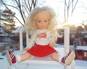 Kimberly Doll, Tomy Doll, Kimberly Cheerleader Doll, Cheerleader Doll, Vintage Doll, Toys, Vintage Toys,  :)S