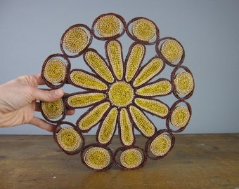 Vintage Table Centre, Trivet, Pot stand, vintage tableware