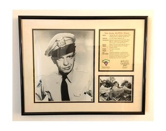 Andy Griffith Show Wall Art---Featuring Barney Fife (Don Knotts)