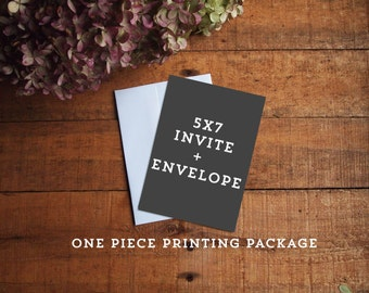 One Piece Printing Package