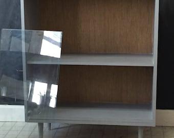 Mid century danish modern custom display case Eames era