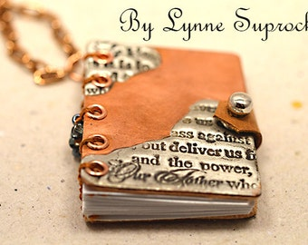 Little Book Necklace 4