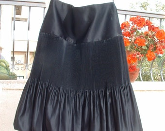 free shipping BIGOSCHI italian skirt Accordion  pleating never been worn circa 1960's